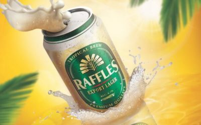 Raffles Beer in 330ml Cans